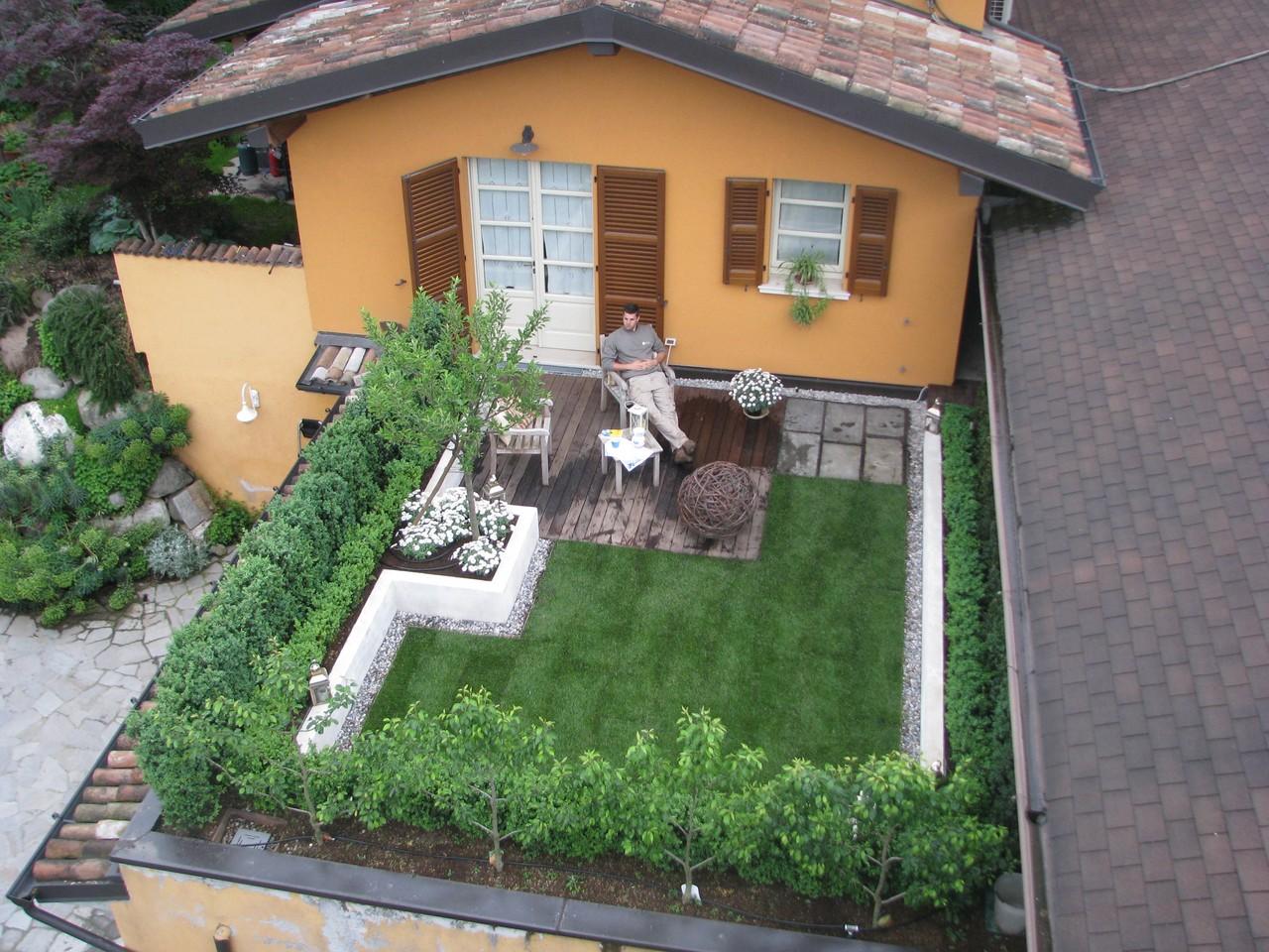 Terrazza a Brescia (Giardino Pensile)  I nostri lavori  Grechi Giardini