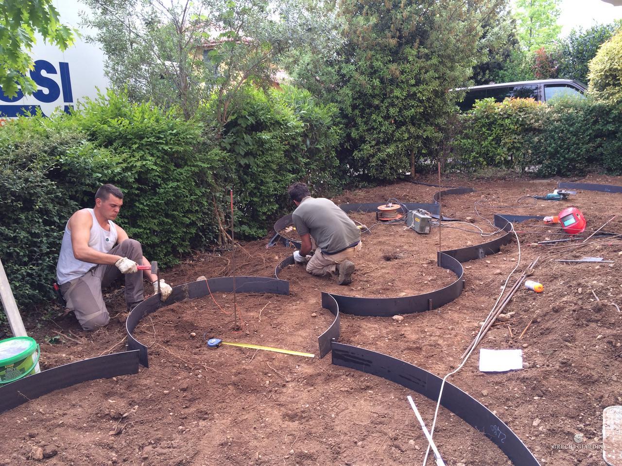 Il piccolo giardino che ti accoglie i nostri lavori - Sistemare il giardino ...