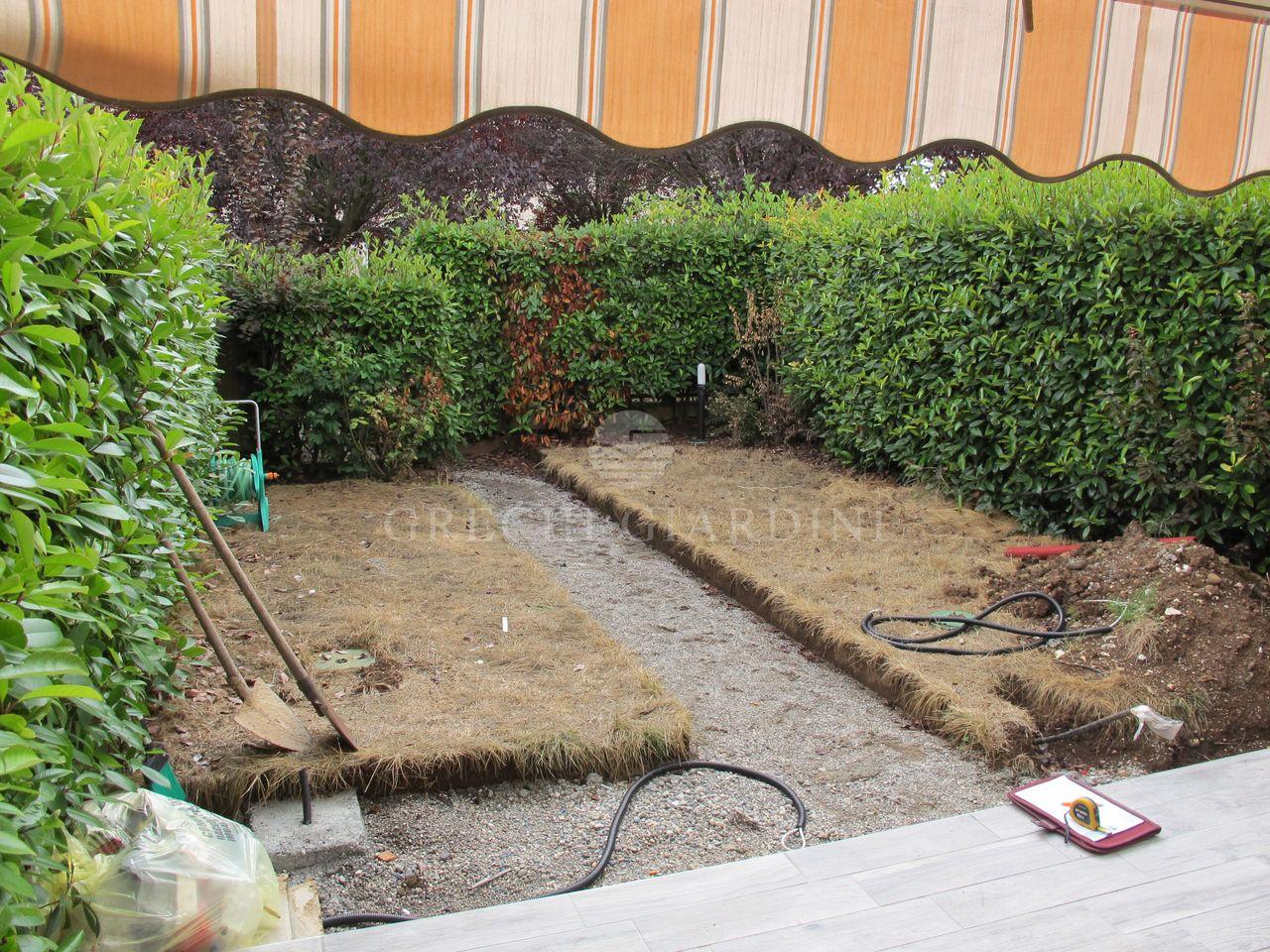 Il nuovo giardino della villetta a schiera buffalora i - Giardini di villette ...