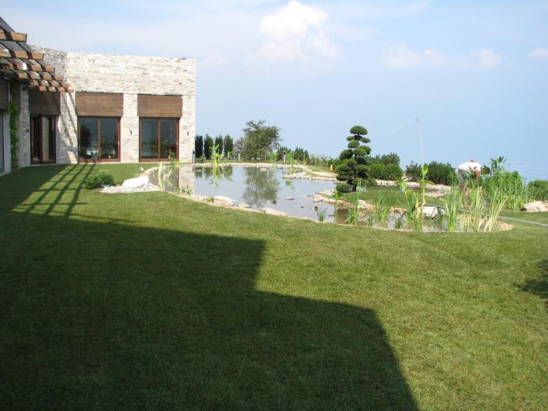 Giardino Zen Lago Di Garda : Giardino pensile sul lago di garda realizzazione